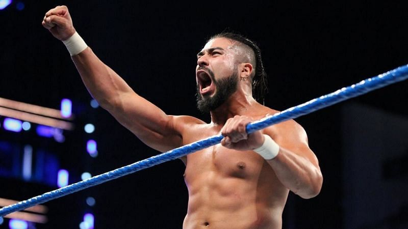 Andrade left WWE just a few weeks ago
