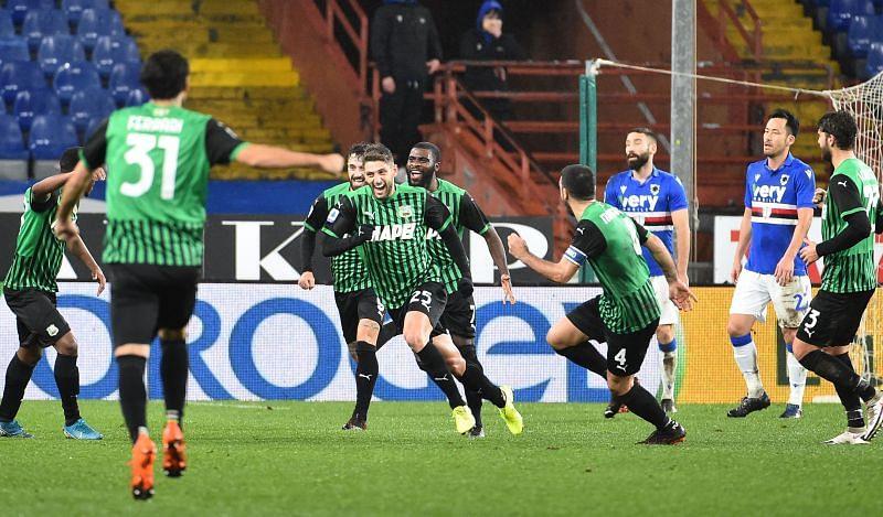 Sassuolo vs Sampdoria: Prediction, Lineups, Team News, Betting Tips & Match Previews