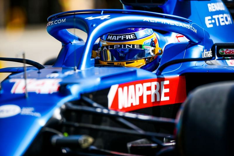 Renault have been rebranded as Alpine this season. Photo: Peter Fox/Getty Images.