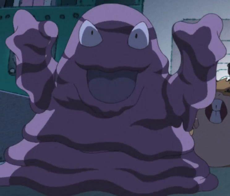 Grimer is a Poison-type Pokemon that evolves into Muk (Image via The Pokemon Company)