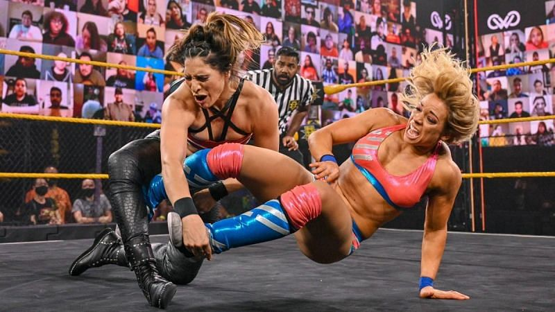 Raquel Gonzalez and Zoey Stark had a great match on WWE NXT