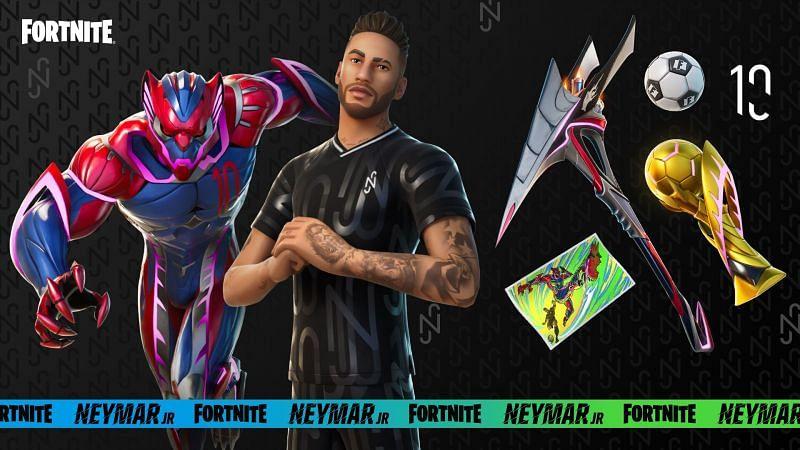 Neymar Jr comes to Fortnite (Image via Epic Games, Fortnite)