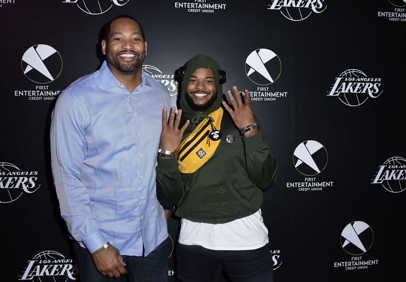 Lakers legend Robert Horry and Camron Horry