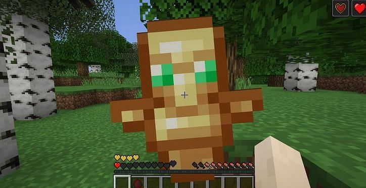 Shown: A Totem of Undying looks similar to a Villager (Image via pinterest)