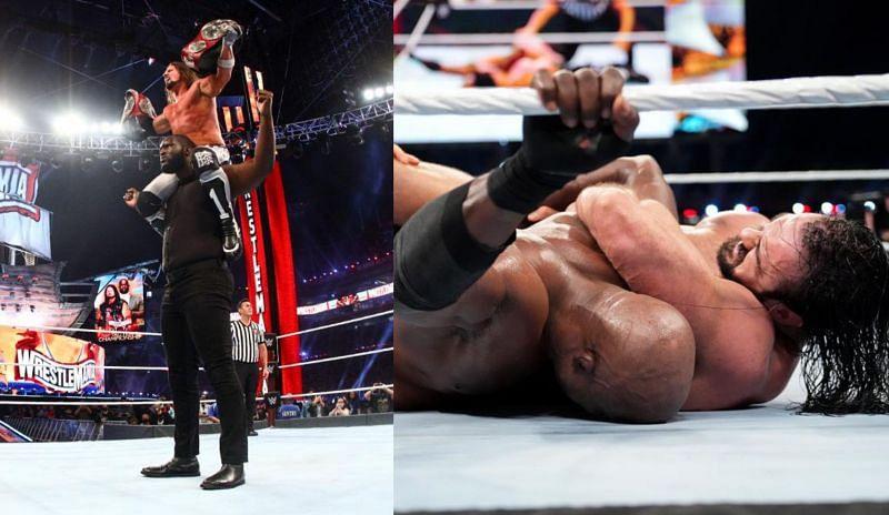 WrestleMania नाईट 1 में काफी कुछ देखने को मिला