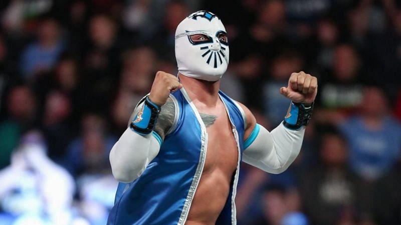 Sin Cara is a former WWE NXT Tag Team Champion (w/Kalisto)