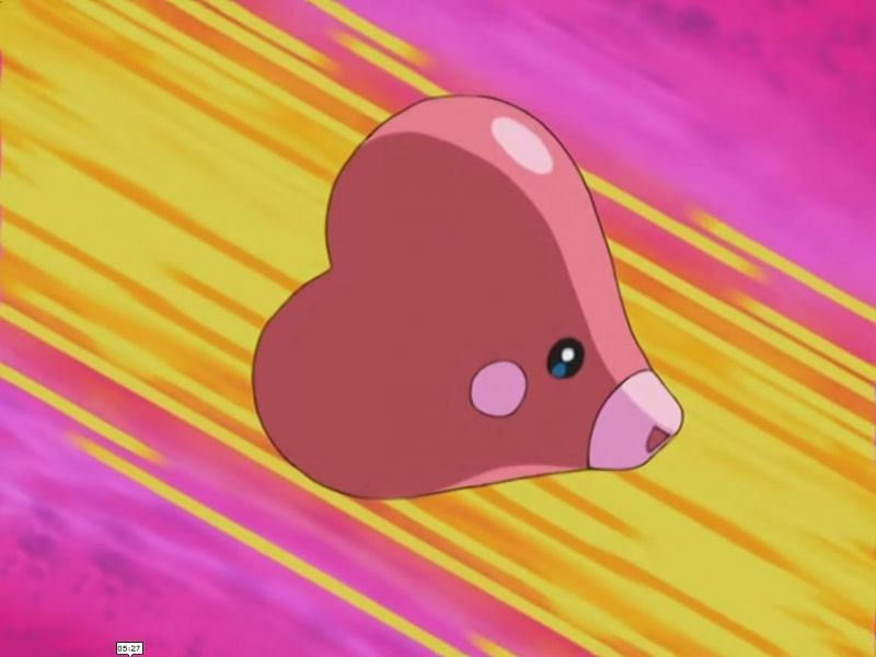 Luvdisc (Image via The Pokemon Company)
