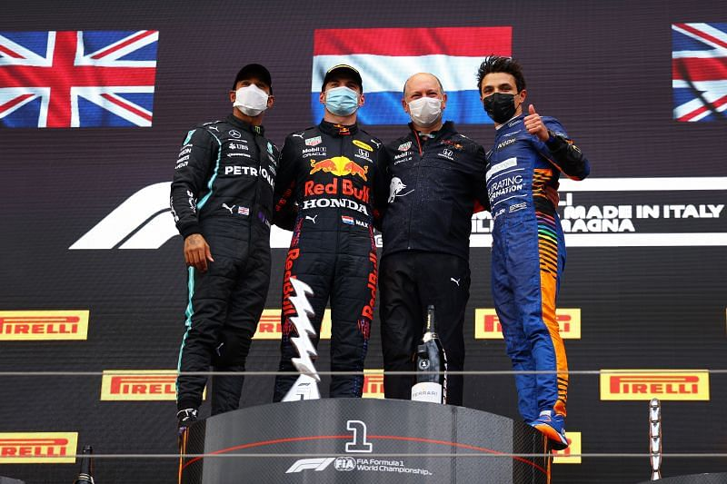 Max Verstappen comfortably won the Imola Grand Prix. Photo: Bryn Lennon/Getty Images.