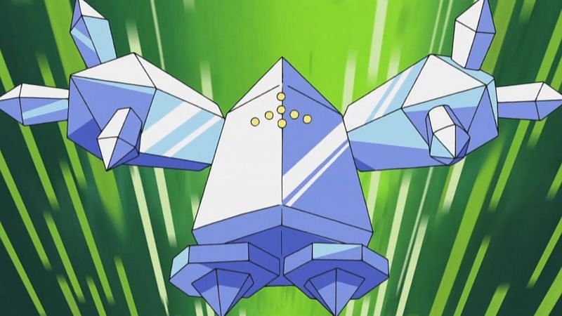 Regice in the anime (Image via The Pokemon Company)