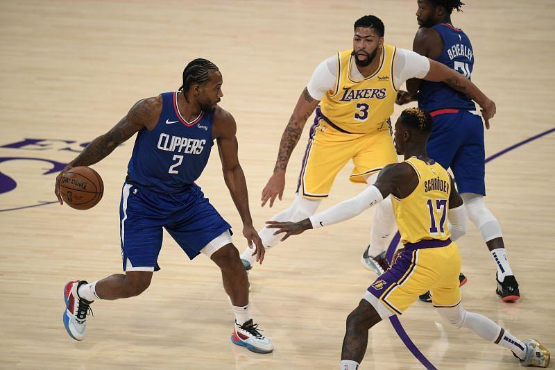 LA Clippers vs LA Lakers