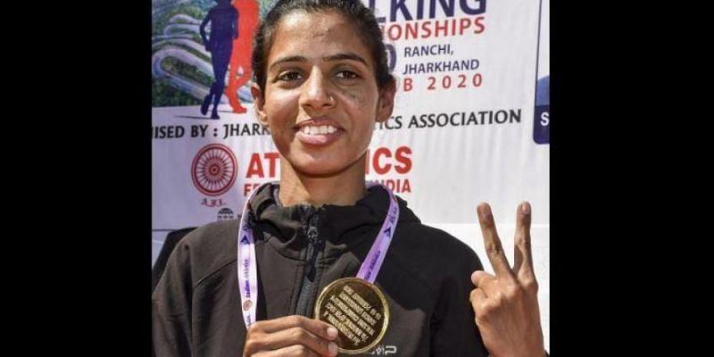 Bhawana hopes to breach the 1:28:00s mark for a podium finish at the Tokyo Olympics (Source: News18)