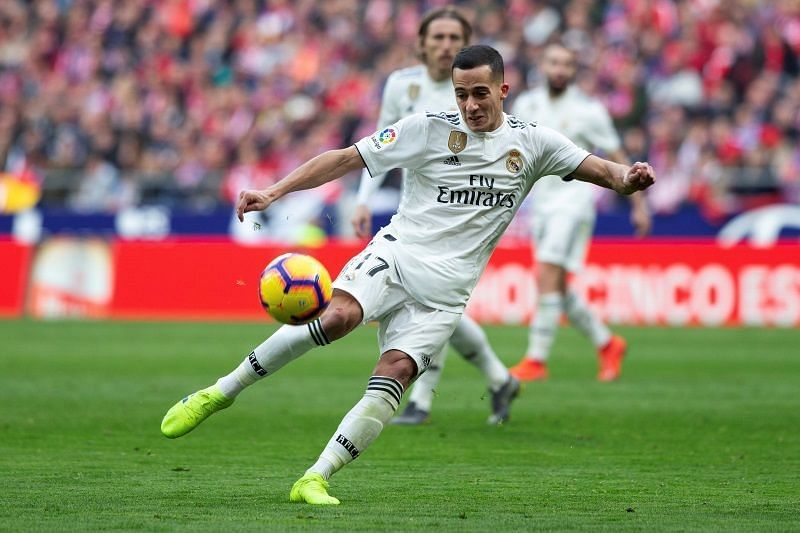 Lucas Vazquez will be out of contract with Real Madrid at the end of the season.