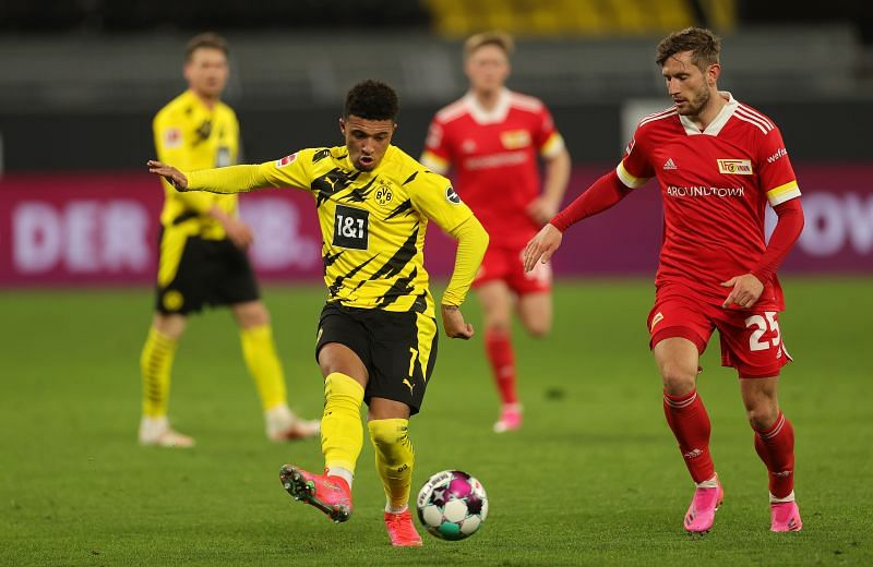 Jadon Sancho has been a revelation at BVB. (Photo by Friedemann Vogel - Pool/Getty Images)
