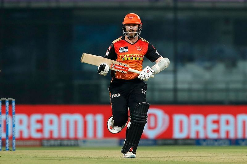 Williamson made the most of the little time he had against CSK