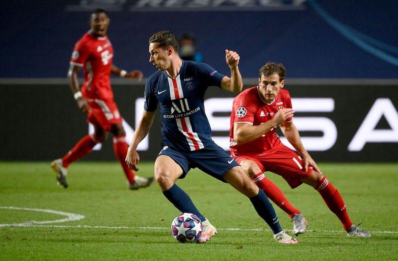 Paris Saint-Germain take on Bayern Munich this week