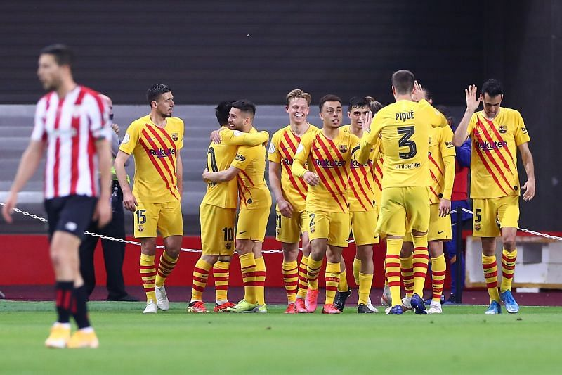 Barcelona win their 31st Copa Del Rey title!