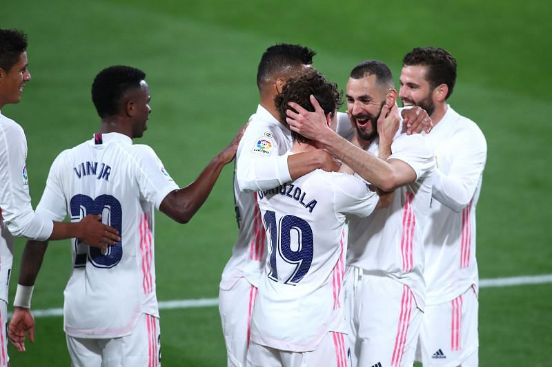 Real Madrid defeated Spezia 3-0 on Wednesday night