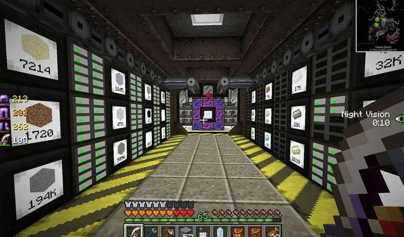 Shown: An amazing AE 2 server room (Image via u/iskall85 on Reddit)