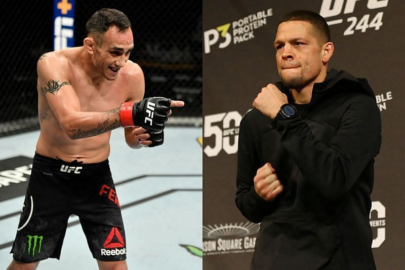 Tony Ferguson and Nate Diaz