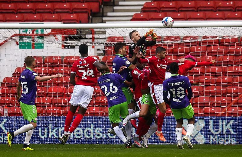 Bristol City and Nottingham Forest are separated by just one point in the Championship