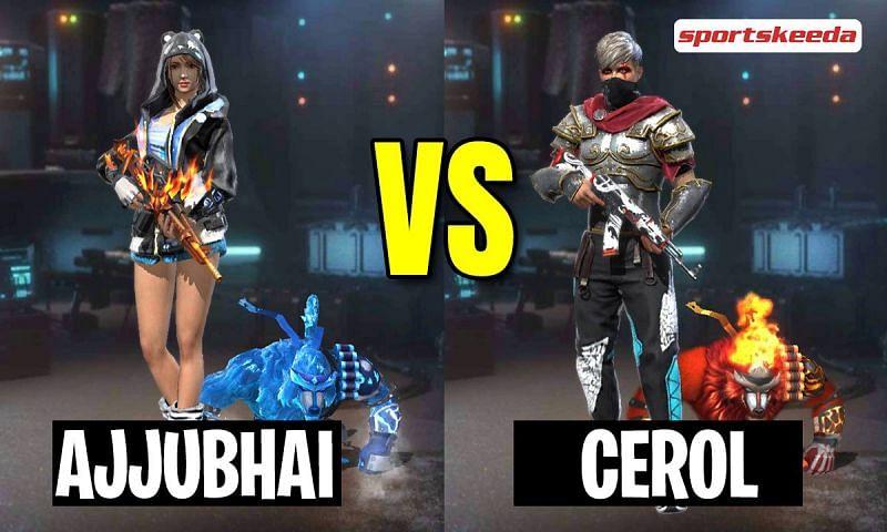 Garena Free Fire: Ajjubhai (Total Gaming) vs Cerol