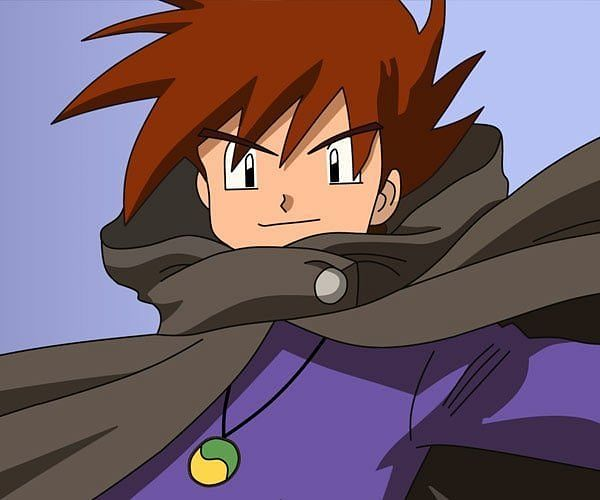 Gary Oak (Image via The Pokemon Company)