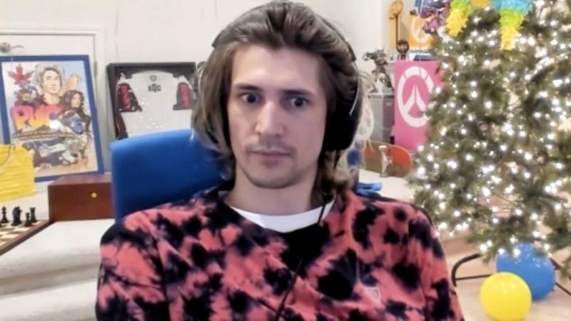 xQc was banned permanently from GTA RP server NoPixel recently (image via xQcOW, Twitch)