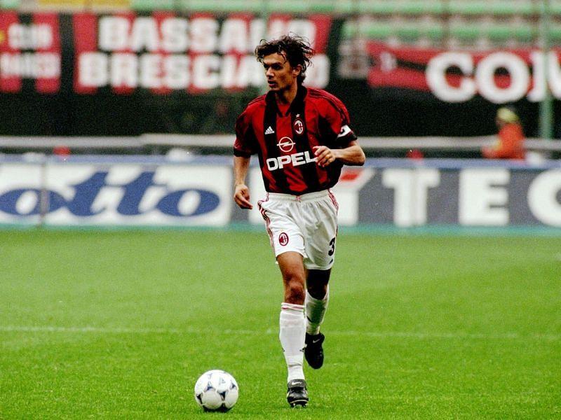 Paolo Maldini of AC Milan