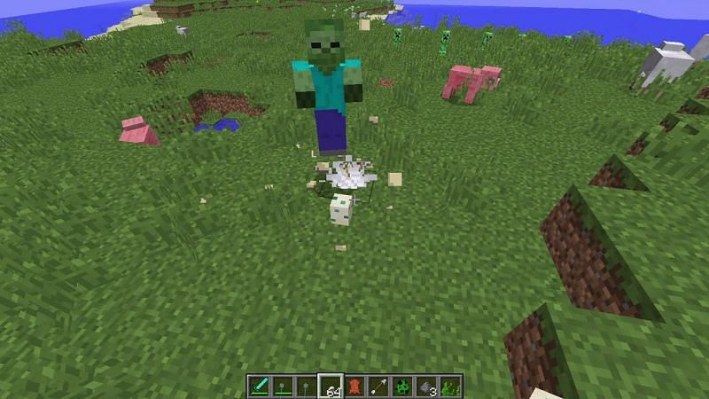 Zombies have a desire to trample on Turtle eggs.