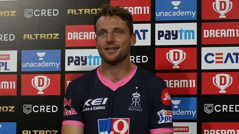 Jos Buttler of the Rajasthan Royals (RR)