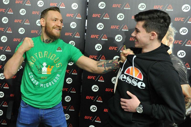 Conor McGregor Retail Appearances