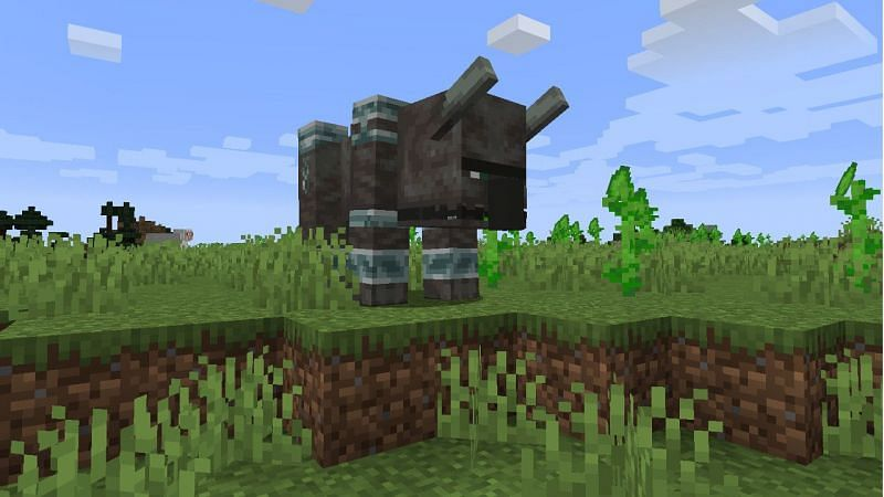 Ravager in nature (Image via Minecraft)