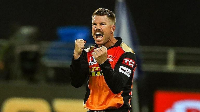 David Warner would love to get to the second position in all-time run-getters in IPL (Source:BCCI)