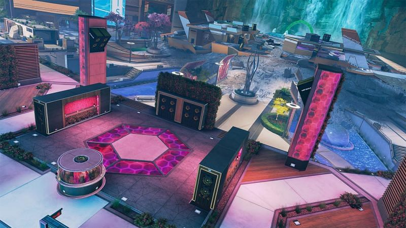 Party Crasher is one of the new maps to be featured in the Arena mode (image via EA)