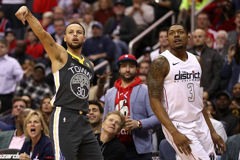 The Golden State Warriors and the Washington Wizards will face off at Chase Center on Friday