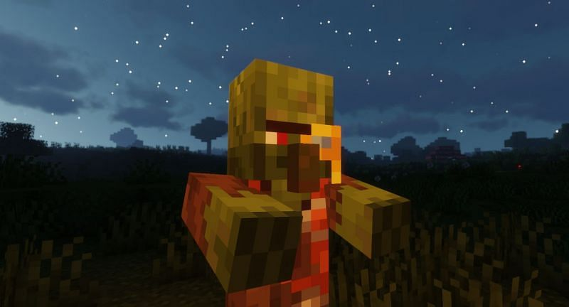 Shown: A Cartographer Zombie Villager (Image via Minecraft)