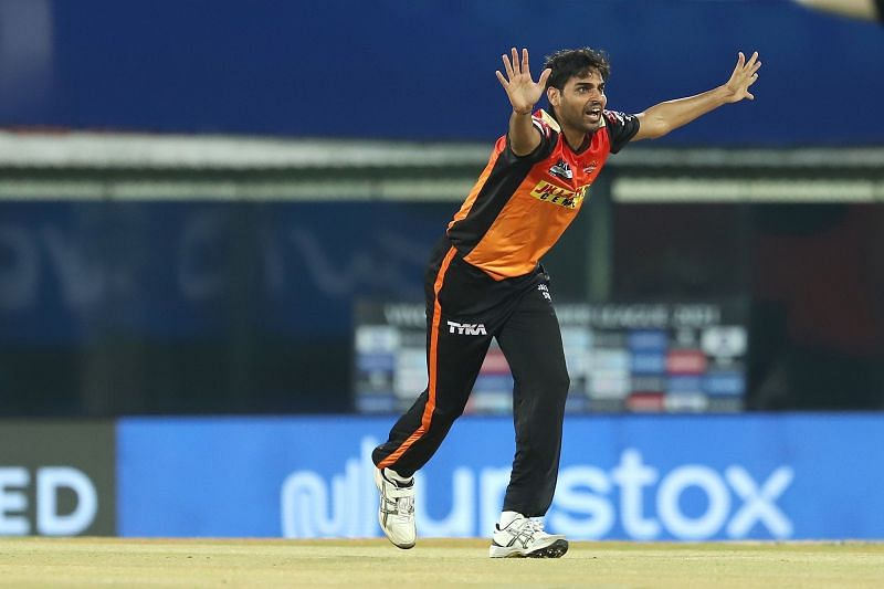 Can Bhuvi bowl a tight spell against RCB? (Image Courtesy: IPLT20.com)