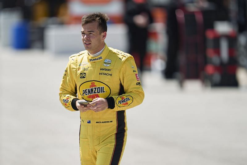 Australian tintop ace Scott Laughlin was 12th fastest in IndyCar