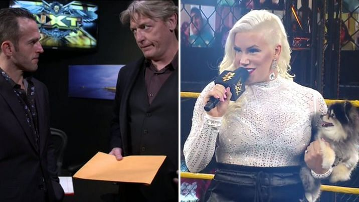 An NXT mainstay makes a controversial decision; a new star makes debut