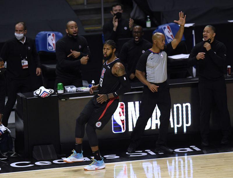 LA Clippers star Paul George enjoying his side