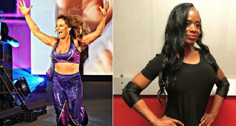 There are several legendary female wrestlers who competed for WWE over the age of 50