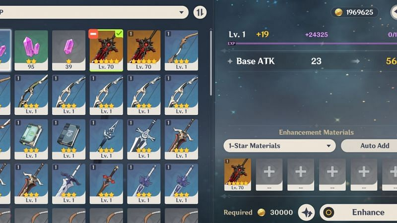 "Account hackers commonly do "" Feeding"" 5-star weapons"