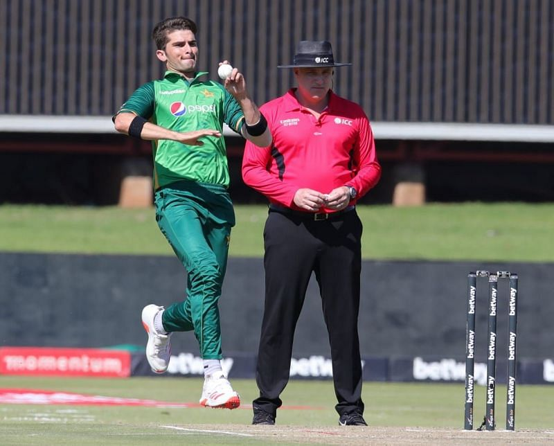 Shaheen Afridi was the pick of Pakistan