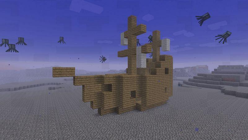 Naturally generated structure (Image via minecraftforum)
