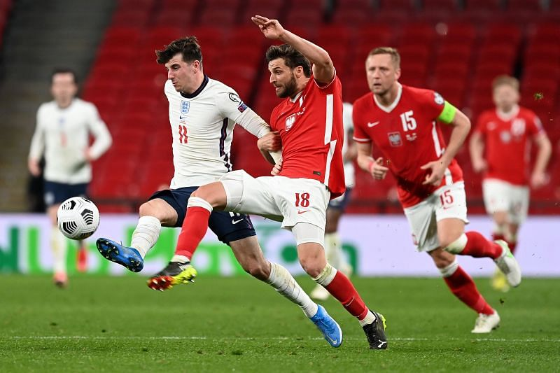 England - and Mason Mount in particular - were excellent in the first half of tonight