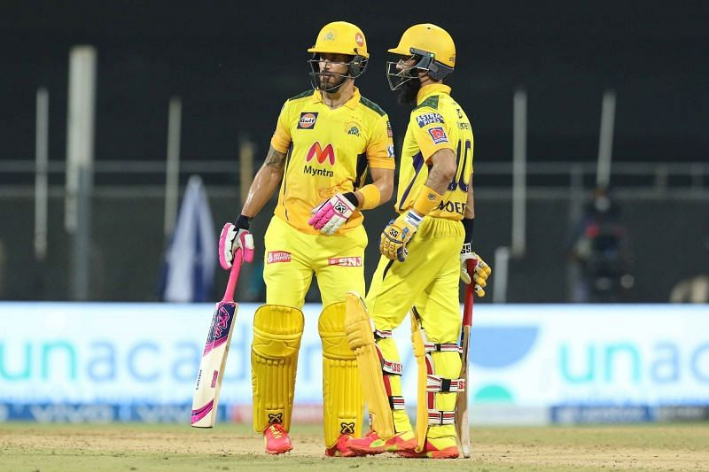 Chennai Super Kings recorded a comfortable victory against the Punjab Kings in IPL 2021 (Image courtesy: IPLT20.com)