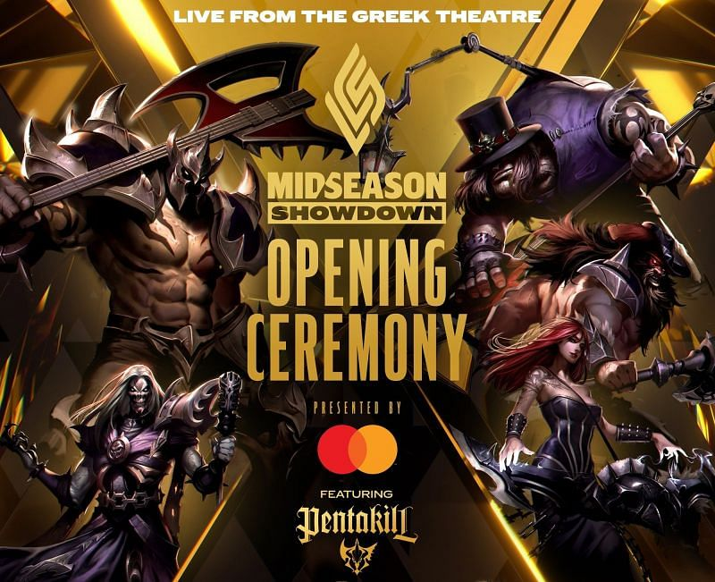LCS Mid Season Showdown opening ceremonies will see the return of PENTAKILL (Image via Riot Games - LCS)