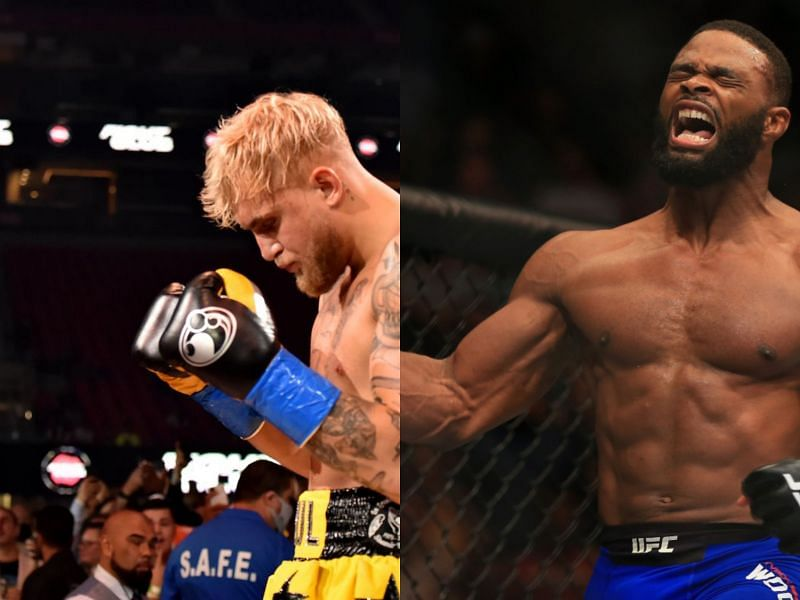 Could a fight with Jake Paul be in the future for Tyron Woodley?