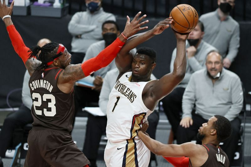 Zion Williamson is the Pelicans leading scorer this season
