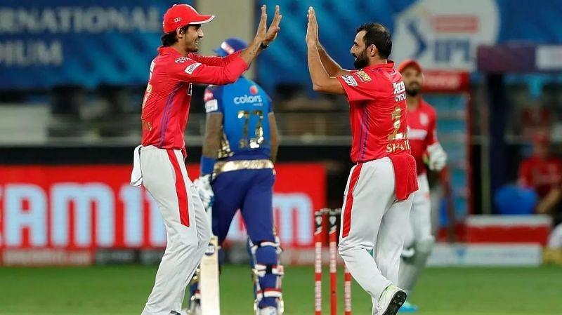 Mohammed Shami celebrating a wicket with Deepak Hooda (sentinelassam.com)